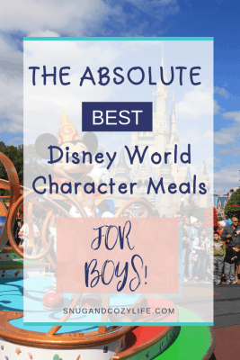mickey mouse on parade for the best disney world character meals for boys