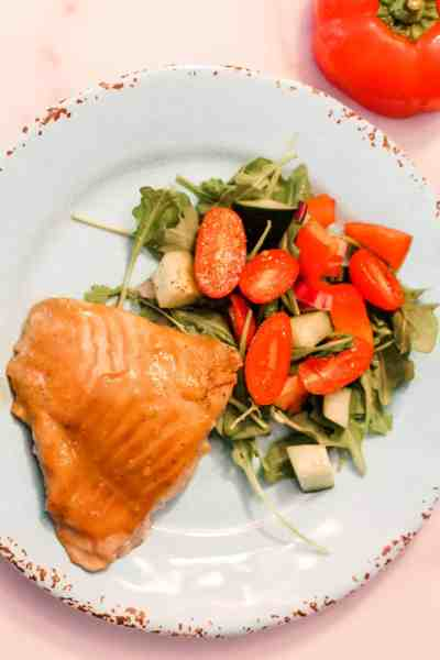How to Make Maple Dijon Salmon in a Hurry! {Only 20 Minutes!}