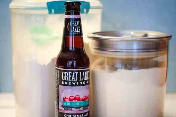 sugar, flour, and great lakes christmas ale