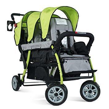 foundations-trio-sport-tandem-stroller-green