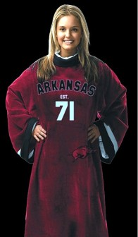 Arkansas Razorback Uniform Snuggie