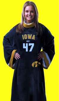 Iowa Hawkeyes Uniform Snuggie