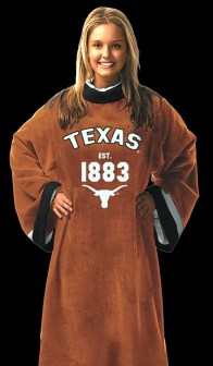 Texas Longhorns Uniform Snuggie