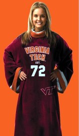 Virginia Tech Uniform Snuggie