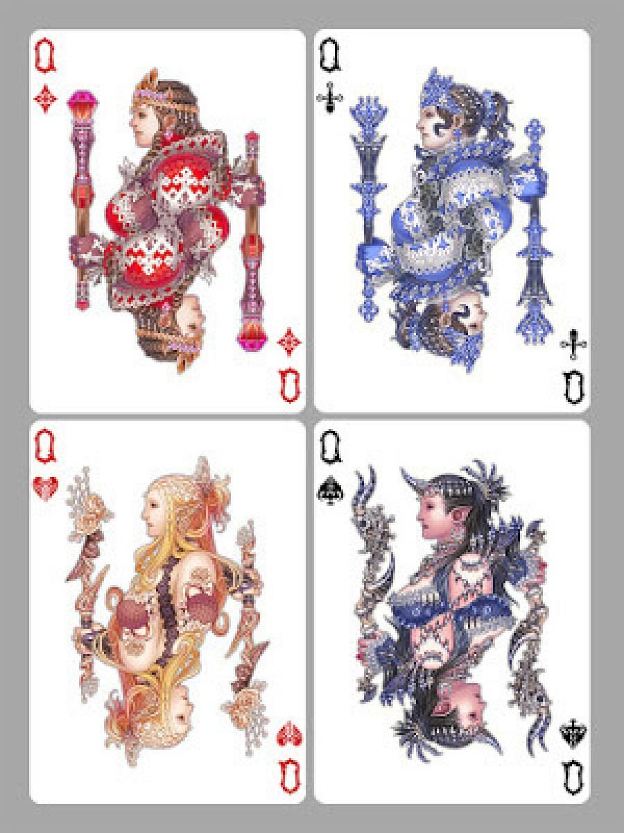 http://wen-m.deviantart.com/art/Playing-Cards-Queens-327240339