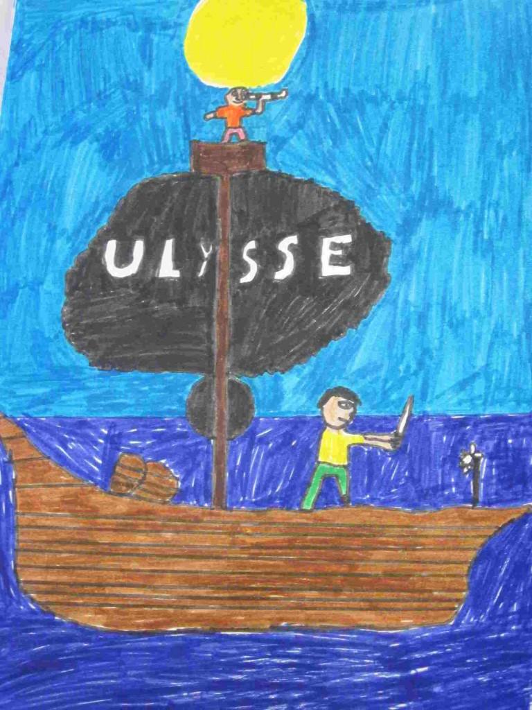 Heureux Qui Comme Ulysse Illustration : heureux, comme, ulysse, illustration, Illustration, Heureux, Comme, Ulysse, Joachim, Bellay