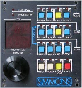 Simmons SDS 7 control surface