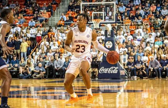 Auburn 'talented freshman' Isaac Okoro has helped Tigers start strong - The  Auburn Plainsman