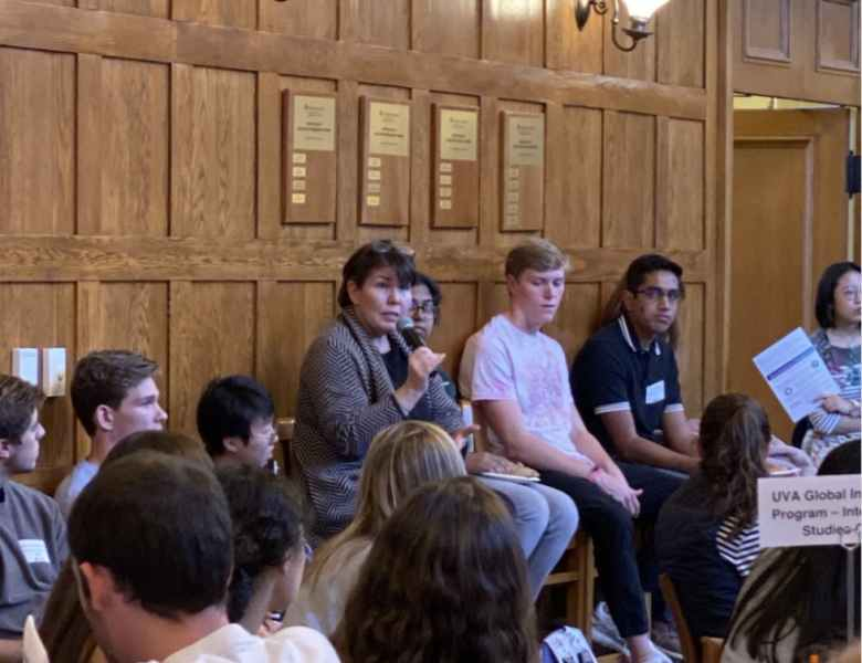 Students share their work abroad experiences at global internship panel - The Cavalier Daily - University of Virginia's Student Newspaper