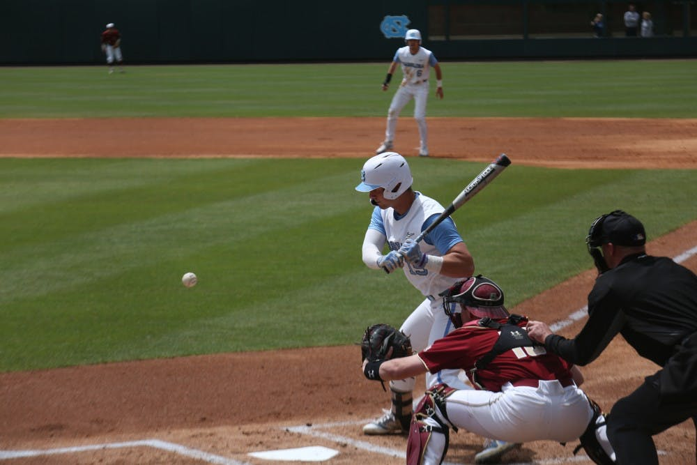 Unc Baseball Drops Two Of Three Against N C State To End