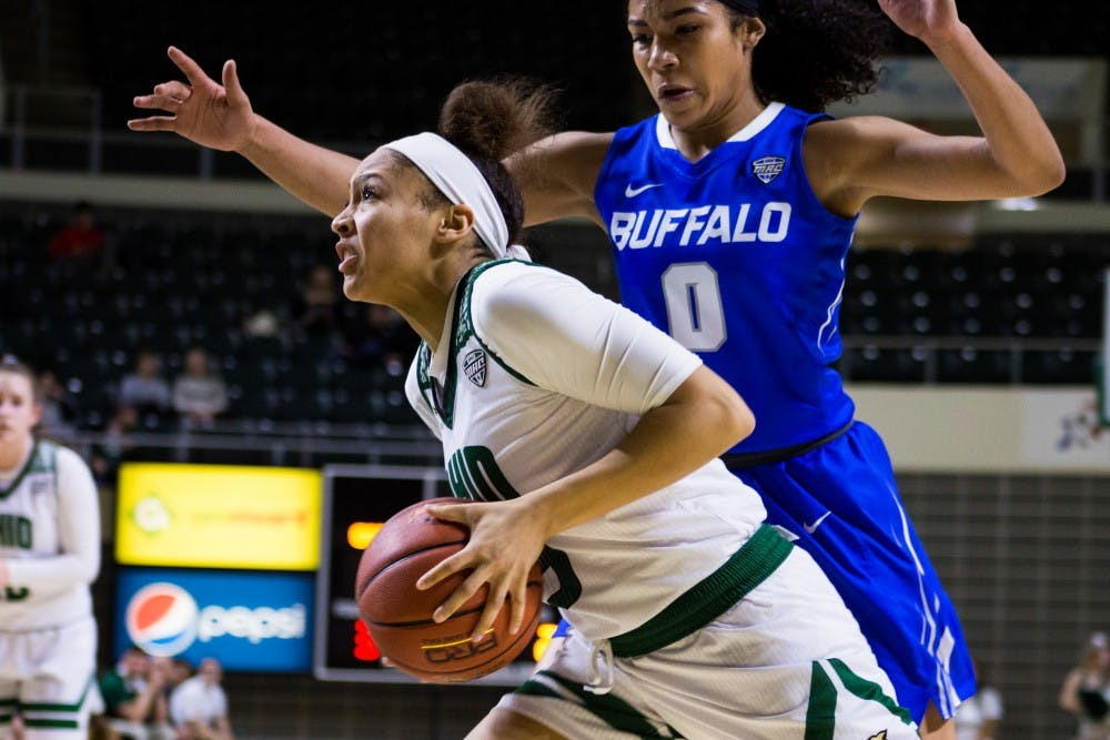 Women's Basketball: Ohio has bad shooting night from 3-point line, loses 67-63 against Buffalo