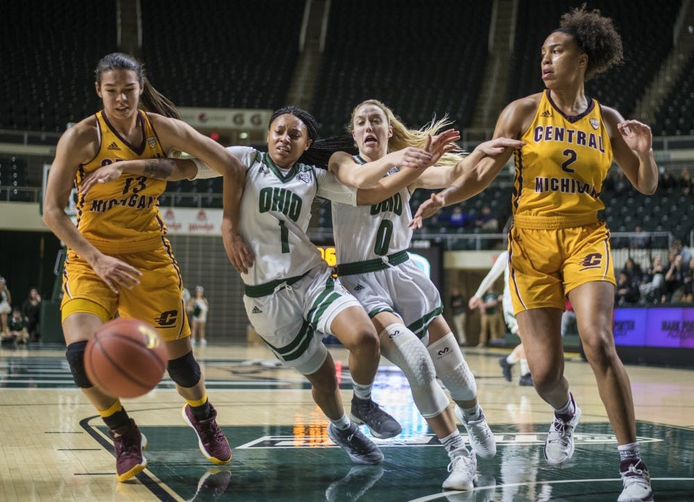 Women's basketball: Ohio falls 73-58 on the road to Eastern Michigan