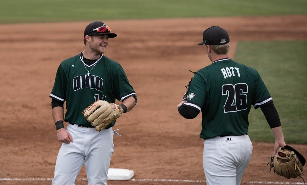 Baseball: Ohio sweeps Towson in weekend road series