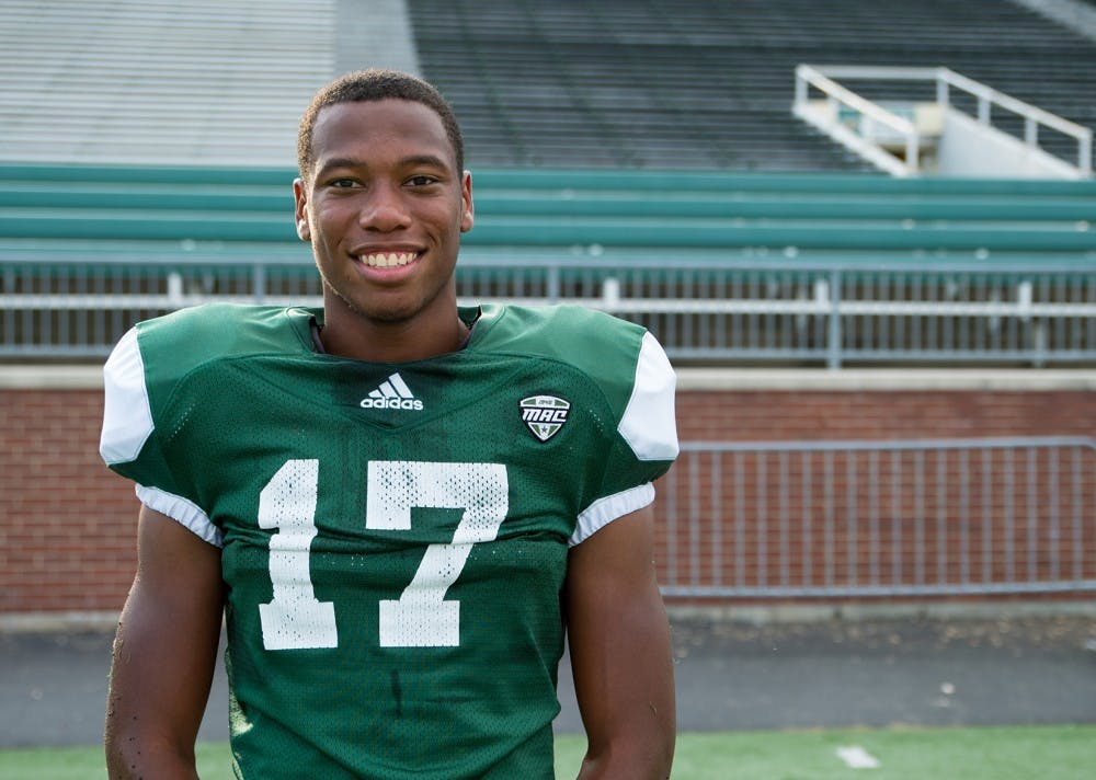 Football: Tariq Drake's journey to Ohio