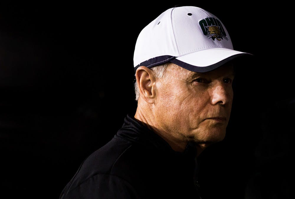 Football: Coach Frank Solich speaks about A.J. Ouellette, red zone offense