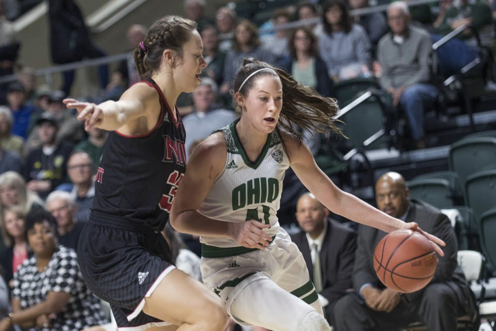 Women's Basketball: Ohio loses 64-55 to Miami on the road, takes step back after winning two straight games