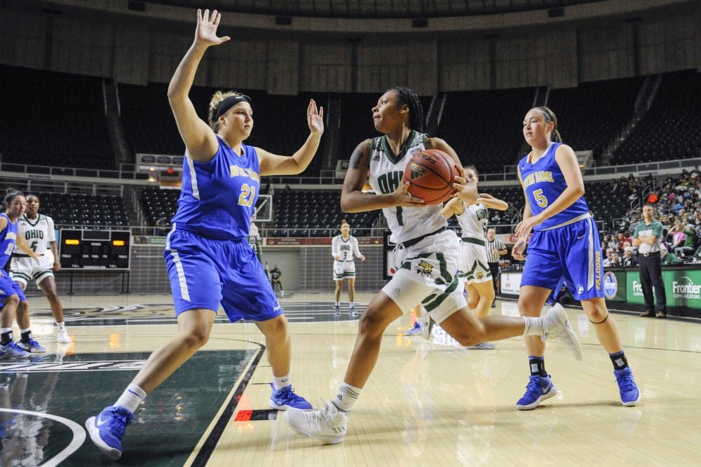Women's basketball: Ohio loses 82-58 against Central Michigan on the road