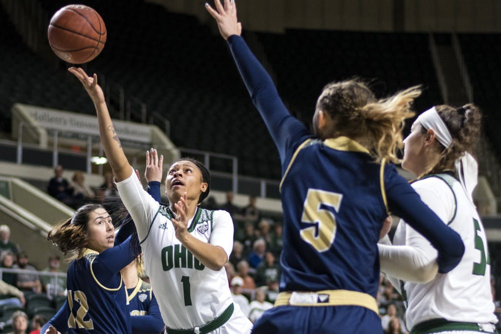 Women's Basketball: Ohio has five players score in double figures in win over Akron, shows it can have balanced scoring
