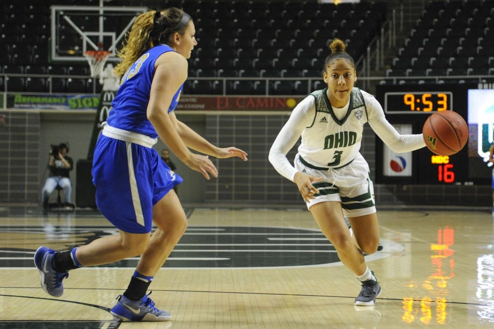 Women's basketball: Ohio defeats North Carolina A&T 72-65, closes non-conference play with a win