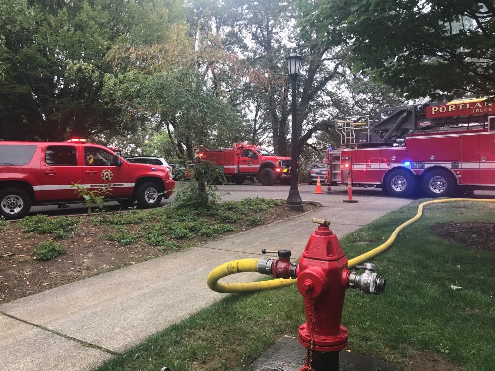 brush fires near campus
