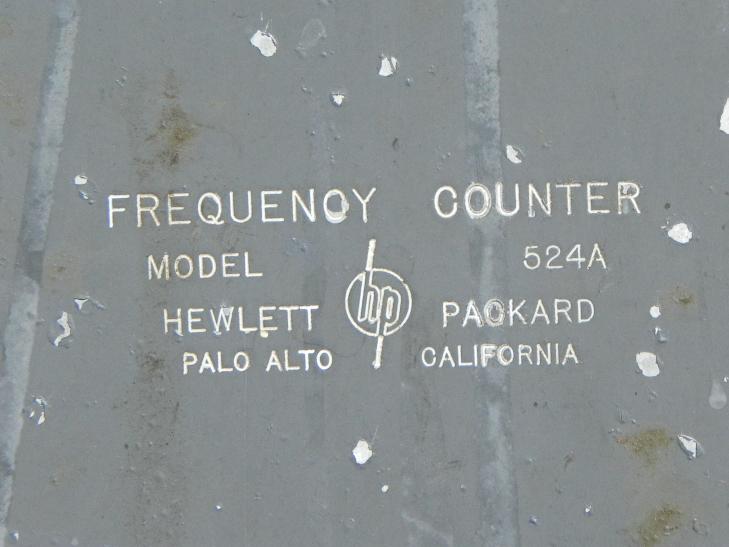 Electronics Hewlett Packard 524A Counter