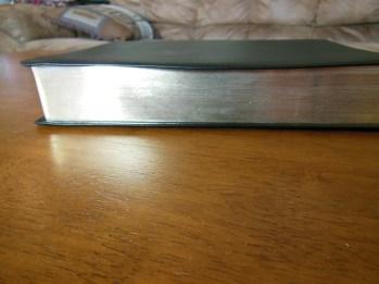 NASB Reference Bible Genuine Calfskin Black 045