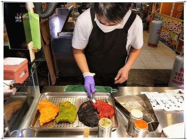 墨之雞排,中原美食,桃園美食,馬卡龍雞排,彩色雞排