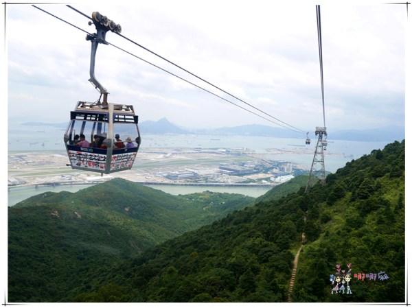 香港旅遊,昂坪360纜車,東涌纜車站,東涌,昂坪市集,滿記甜品,芝麻糊