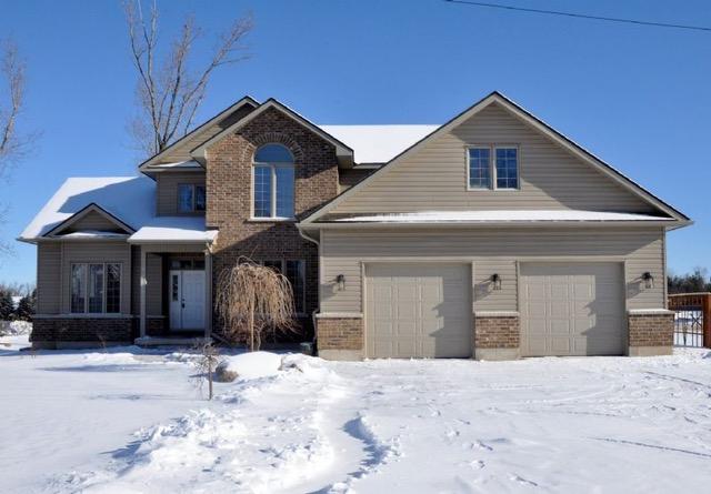 Nouvelle maison et déménagement sous la neige