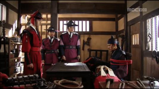 獄中花第12話 捕まったユン・テウォンと義禁府