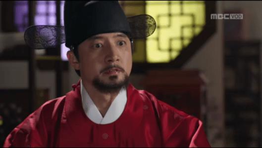 獄中花第10話 文定王后の怒りを買うユン・ウォニョン