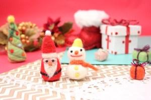 可愛い クリスマス リース 飾り 手作り 簡単 折り紙 フェルト 毛糸
