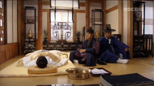 獄中花(オクチュンファ)第22話 ユン・ウォニョンを見舞うユン・テウォン