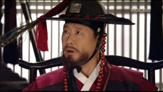 獄中花(オクチュンファ)第22話 ソン・ジホンと話す捕盗大将