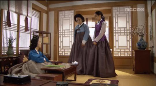 獄中花(オクチュンファ)第27話 婦人に会うオンニョ