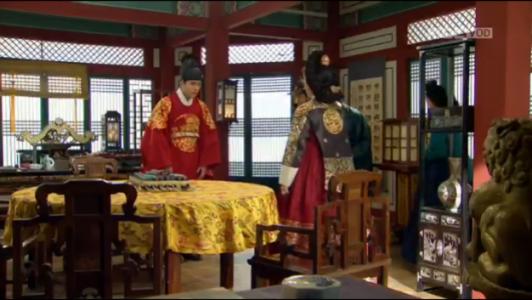獄中花(オクチュンファ)第29話 明宗を訪ねる文定王后