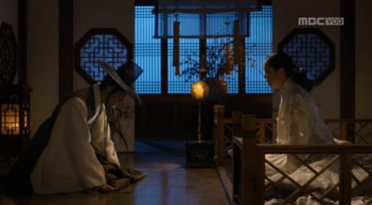 獄中花(オクチュンファ)第33話 涙を流す明宗