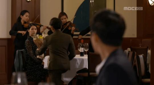吹けよ、ミプン第21話 花束をあげるバン・ソンシク
