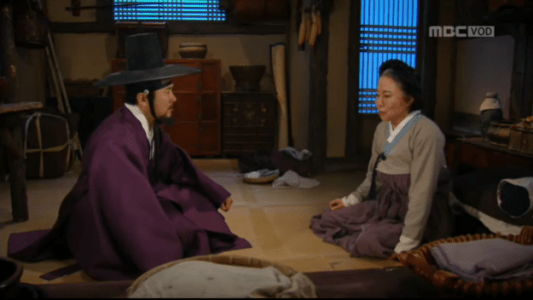 獄中花(オクチュンファ)第34話 ケトンおばさんに話しを聞くカン・ソノ