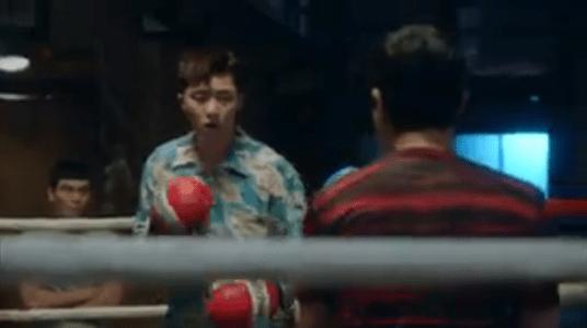 韓国ドラマ「サムマイウェイ」2話 ボクシングするコ・ドンマン