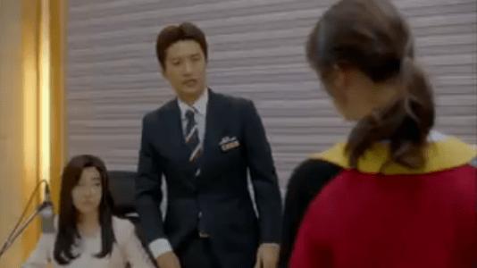 韓国ドラマ「サムマイウェイ」3話 他のアナウンサーが放送する