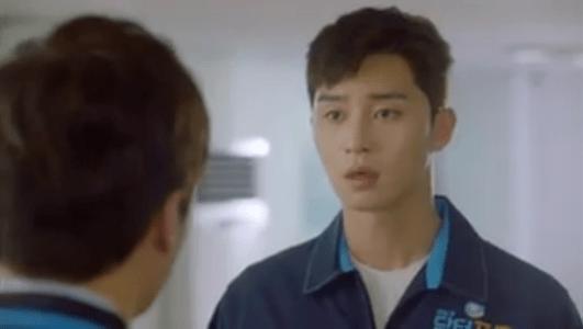 韓国ドラマ「サムマイウェイ」2話 叱られるコ・ドンマン