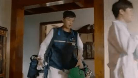 韓国ドラマ「サムマイウェイ」3話 ダニ掃除をするコ・ドンマン