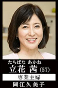 愛してたって、秘密はある 立花茜役 (岡江久美子)