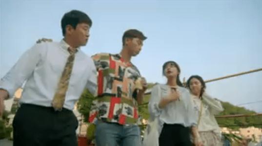韓国ドラマ「サム、マイウェイ」11話 コ・ドンマンの競技を見に行く