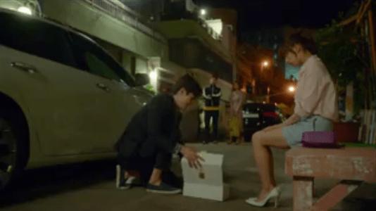 韓国ドラマ「サム、マイウェイ」7話 プレゼントするパク・ムビン