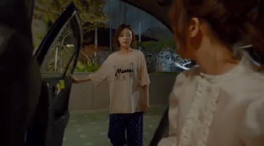 韓国ドラマ「サム、マイウェイ」10話 タクシーを止めるペク・ソリ