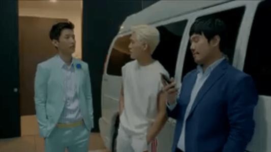 韓国ドラマ「サム、マイウェイ」11話 練習を終えるキム・タクス
