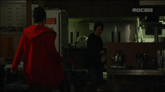 吹けよ、ミプン第32話 チュ・ヨンエを捜すマ・チョンジャ