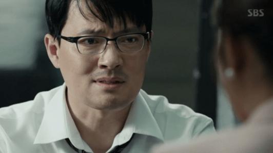 韓国ドラマ「耳打ち(ささやき)」第13話 反論するソン秘書